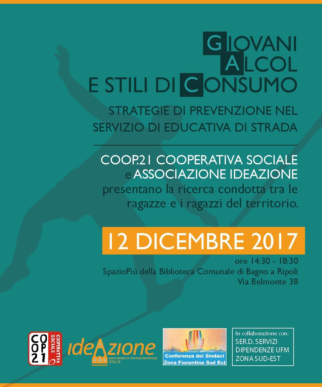 Convegno su giovani e alcol 12 dicembre 2017 | Corsi di formazione e ...