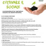 Coltivare il sociale: convegno su agricoltura inclusiva