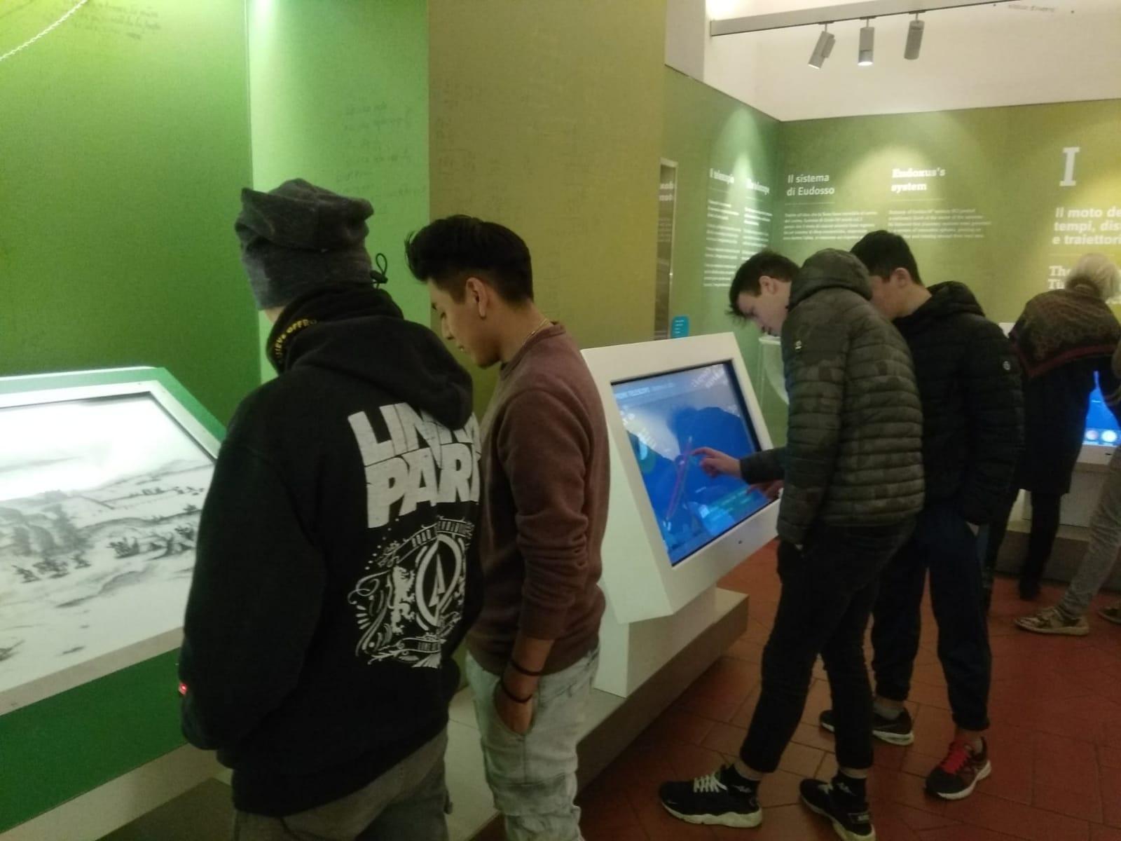 visita d'istruzione al Museo Galileo